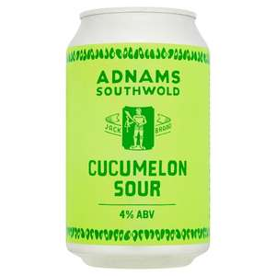 Adnams Cucumelon Sour Ale. 330ml can Sainsbury's Torbay - 93p