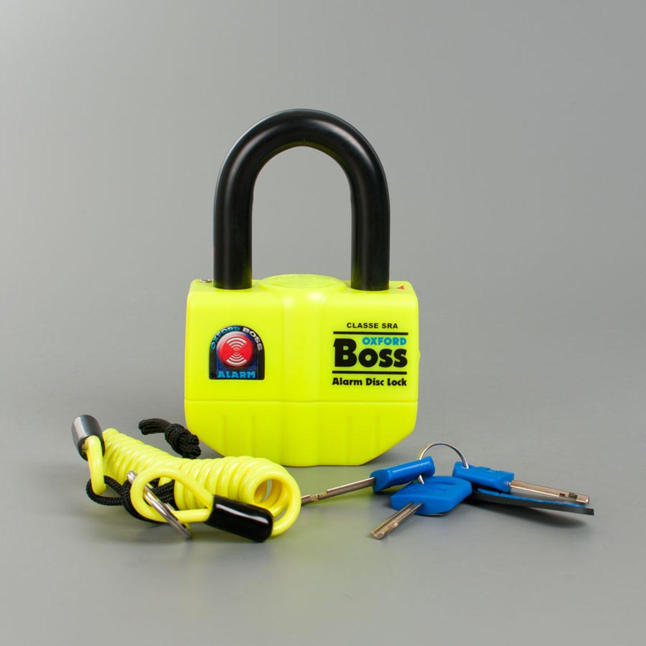 Oxford BIG Boss Alarmed Lock 16 mm - £47.15 @ XL Moto