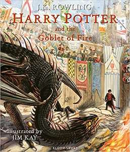 Harry Potter and the Goblet of Fire: Illustrated Edition (Harry Potter Illustrated Edtn) Hardcover £16 @ amazon.co.uk