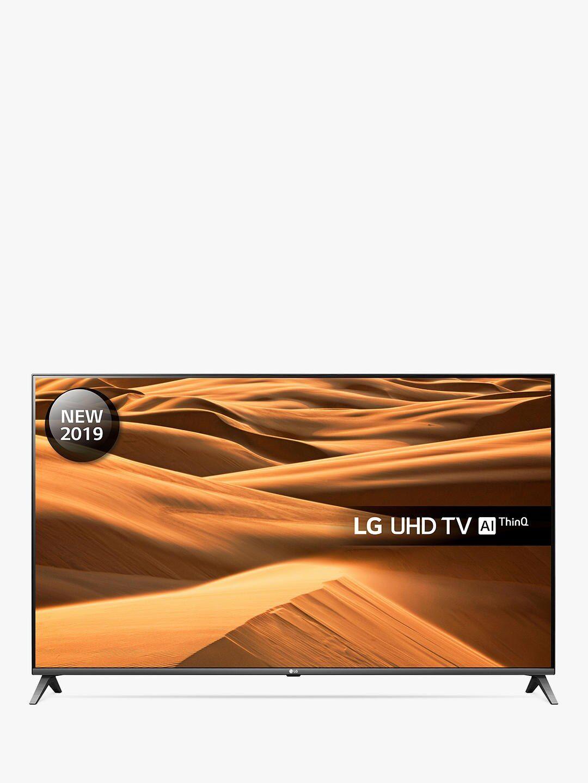 "LG 65UM7510PLA (2019) LED HDR 4K Ultra HD Smart TV, 65"" with Freeview Play/Freesat HD, Ultra HD, Black & Titan £649 @ John Lewis & Partners"