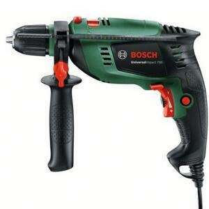Bosch 701W Corded Impact drill Universal Impact £27 with code and B&Q discount stack + 3 Year Warranty @ B&Q (free click and collect)