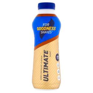 For Goodness Shakes 40g Protein Ultimate Shakes - 2 for £3 @ Morrisons