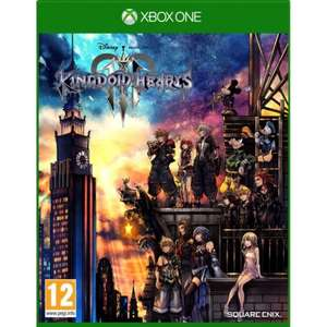 Kingdom Hearts III Xbox One for £8.95 @ The Game Collection