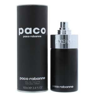PACO by Paco Rabanne Eau de Toilette EDT 100ml Spray down to £19.99 in B&M (Northamptonshire)
