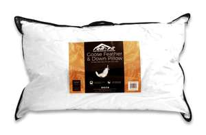Two REM-Fit goose feather down pillows, a bamboo mattress protector and £50 voucher for £55 delivered @ REM-Fit