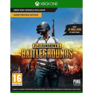 [Xbox One] Playerunknown's Battlegrounds (PUBG) - £3.95 @ The Game Collection