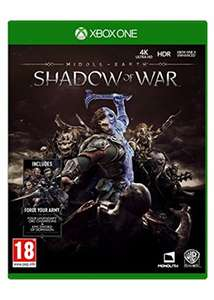 Middle Earth Shadow Of War (Xbox One) £5.85 Delivered @ Base