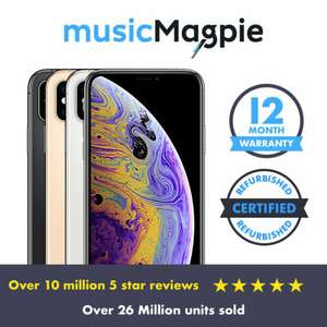 Apple iPhone XS 64GB - Unlocked - Gold - Used Good - £369.99 with code / eBay Music Magpie