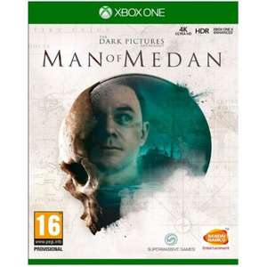 The Dark Pictures: Man of Medan [Xbox one] £11.95 @ The Game Collection
