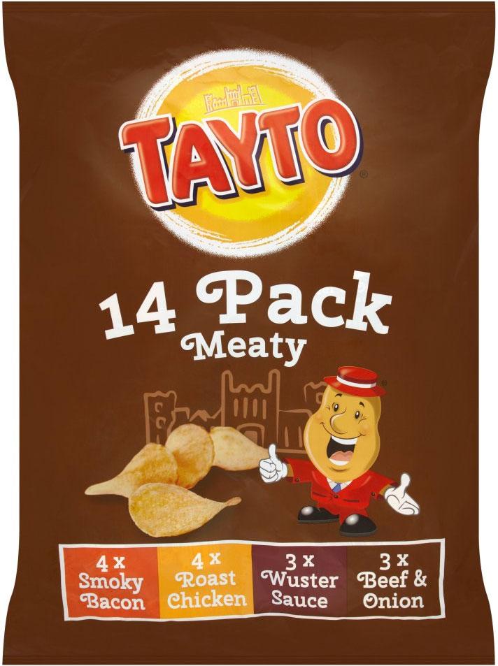 Tayto Meaty 14 (x 25g) Packs instore @ Home Bargains £1.98