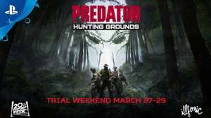 Predator: Hunting Grounds trial weekend March 27 to 29 @ PSN