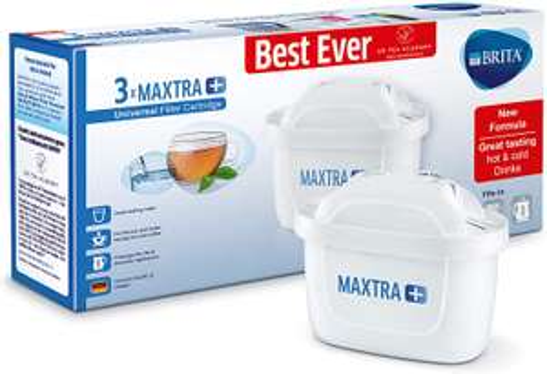 Brita Maxtra+ Water Filter Cartridges (pack of 3) - £10.50 (Prime) £14.99 (Non Prime) @ Amazon