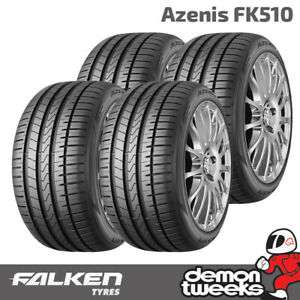 4 x 225/45/17 94Y XL Falken FK510 High Performance Road Tyre £174.49 at DemonTweeks/ebay with code