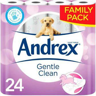 24 pack Andrex Gentle Care £5.13 @ Tesco (Kirkintilloch)