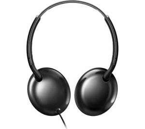 Philips SHL4405BK On-Ear Headphones with Mic (Ultralight, Slim Design, Remote Control) - Black £9.97 at Currys_clearance / ebay