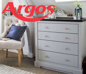 20% off Indoor Furniture Over £150 With Code @ Argos
