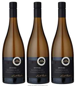 """Kim Crawford Spitfire Marlborough Sauvignon Blanc 2018"" Wine 75 cl, Pack of 6 £12.35 @ Amazon (min order of 3) £37.05"