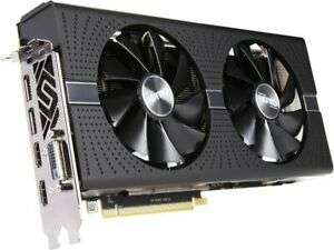 Certified Refurbished Sapphire AMD Radeon RX 580 4GB NITRO+ Graphics Card, DVI-D, HDMI, DisplayPort from Ebay/ realtime_distribution