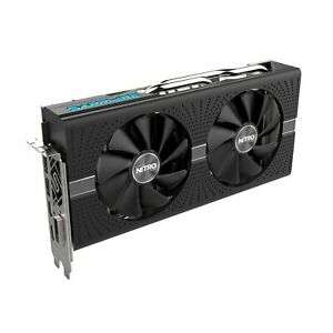 Certified Refurbished Sapphire RX 580 Nitro+ Graphics Card, 8GB GDDR5, DVI-D, HDMI, DisplayPort - £114.99 from Ebay/realtime_distribution