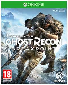 Tom Clancys Ghost Recon Breakpoint (Xbox One) - £19.95 delivered @ The Game Collection