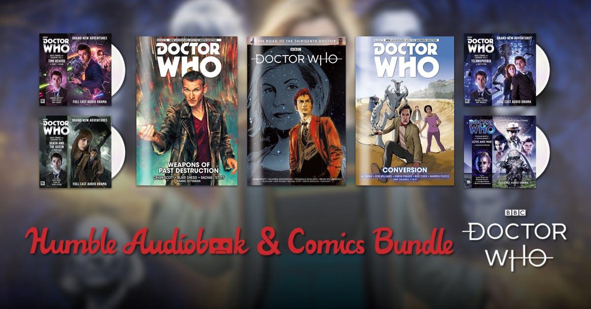 Doctor Who Comics AND Audiobook Bundle £1 @ Humble Bundle
