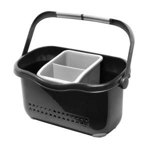 Robert Dyas - Addis Sink Caddy – Black - £2.85 with code - Free Click & Collect