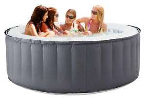 Hot Tub Spa Inflatable D-SC04 MSPA Silver Cloud with one button inflate £199.99 (using code) @ Ebuyer / Ebay