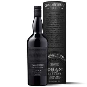 Oban Little Bay Reserve Single Malt Scotch Whisky 70cl - The Night's Watch Game of Thrones Limited Edition £35.99 @ Amazon