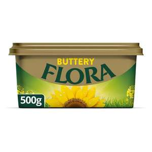 Flora Buttery Spread 500g , Now £1 @ Sainsbury's
