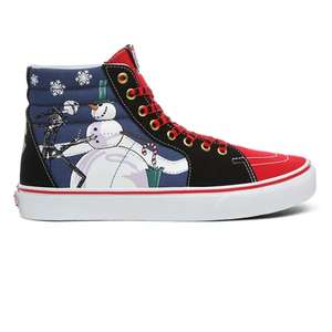 Vans X Disney Nightmare Before Christmas SK8 shoes £40 (was £80) delivered from Vans