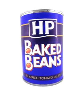 HP Baked Beans 415g £0.39 OneBelow