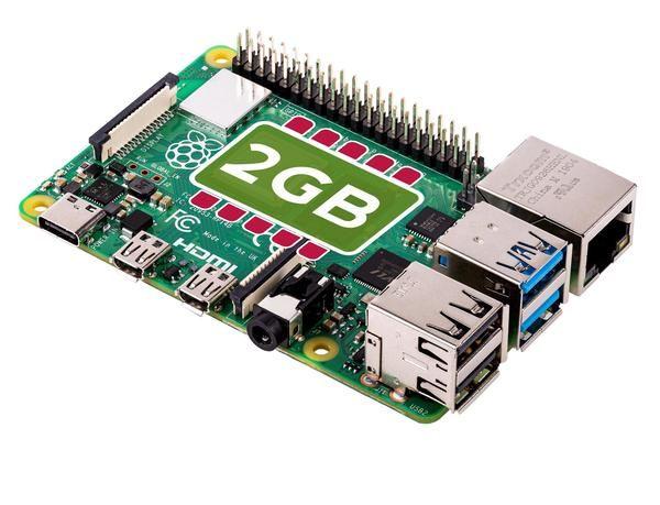 Raspberry Pi 4 2GB - £36.99 Delivered @ The Pi Hut