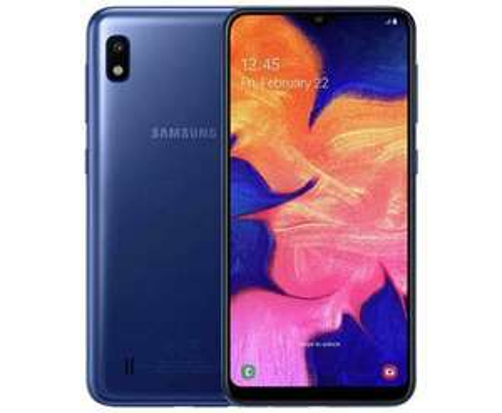 """Samsung SM-A105F Smartphone 6.2"""" 32GB 2GB 1080p HD Blue Unlocked SIM Free-Refurbished £89.50 @ Tesco eBay"""