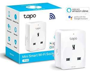 Tp-Link Tapo Smart plug £4.99 (Prime) / £9.48 (non Prime) at Amazon using code (Selected Accounts only)
