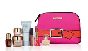 Free Estée Lauder gift set worth £100 when you buy two products (1 x skincare/foundation) at Debenhams