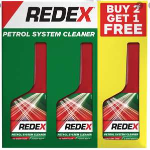 REDEX Petrol and Diesel cleaner 3 pack £3 in Tesco Great Yarmouth