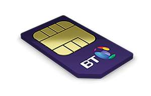BT Mobile - SIM Only - Unlimited Mins+Txts+100GB £20/12months + £80 MasterCard gift card (Broadband CCustomers only)