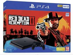 Sony PS4 500GB Console and Red Dead Redemption 2 Bundle £179.99 @ Argos (limited stock)