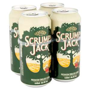 4 cans of Scrumpy Jack cider £1.99 @ Spar (Scunthorpe)