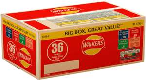 Walkers Crisps Variety Box 36 x 25 g £3.50 @ Morrisons (Instore - Nationwide where stocked)