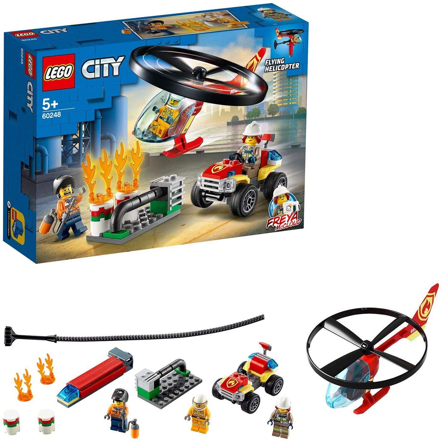 LEGO City 60248 Fire Helicopter Response £14 (Prime) + £4.49 (non Prime) at Amazon
