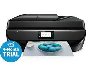 'Opened Never Used' HP OfficeJet 5230 All-in-One Wireless Inkjet Printer with Fax £35.99 at Currys_clearance/ebay with code (4 months ink)