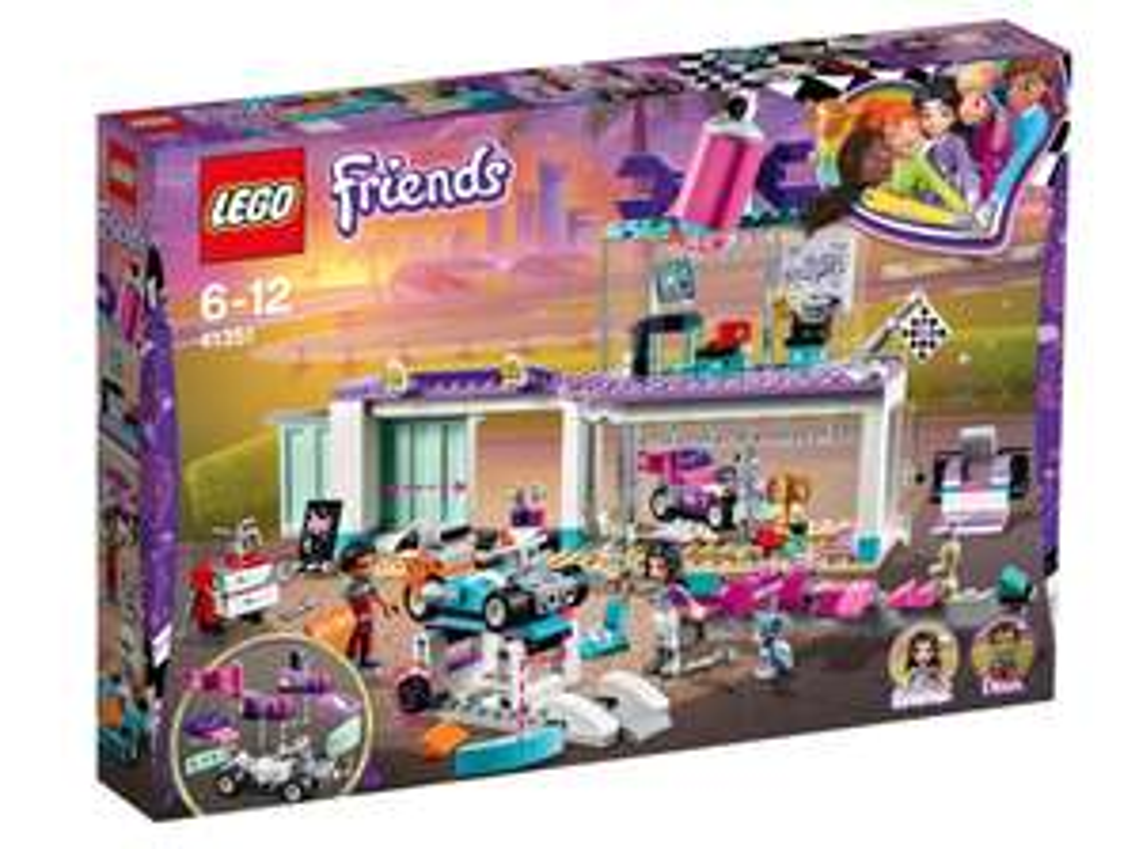 Lego Friends Heartlake Creative Tuning Shop 41351 £10 Sainsbury's Reading