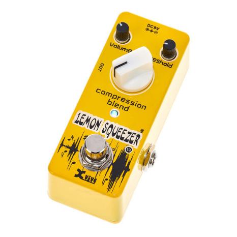 XVive V9 Lemon Squeezer Compression Blend Guitar Pedal £24.70 Delivered @ Thomann