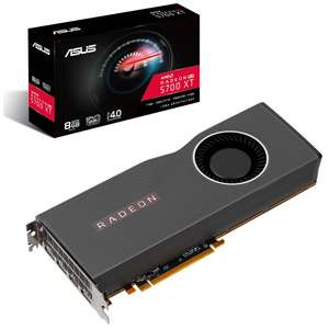 ASUS RX 5700 XT 8GB GPU + Resident Evil 3, Monster Hunter World Master edition and 3 Months Games Pass £309.89 Delivered @ Overclockers