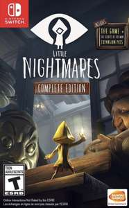 Little Nightmares Complete Edition (switch) @ Nintendo eshop Russia - £8.27