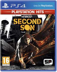 InFamous Second Son (PS4) - PlayStation Hits for £8.99 (Prime) / £11.98 (Non Prime) delivered @ Amazon