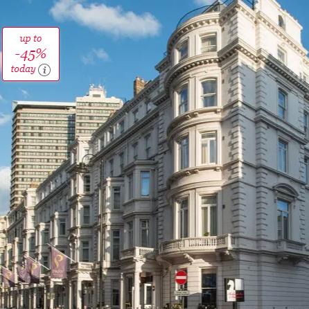 Park International Hotel Kensington London £99 per night @ Secret Escapes