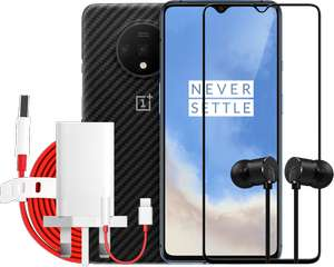 Oneplus 7T Smartphone 8GB RAM + 128GB Storage + case / Type-C Bullets / Warp Charge power adapter& cable / 3D Tempered Glass £549 @ Oneplus