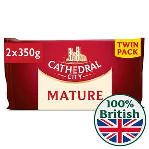 2 x 350g Mature Cathedral City Cheese £4 @ Morrisons